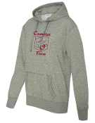 8860 Ladies Glitter Hoody