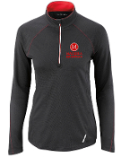 78187 Ladies 1/2-Zip Performance Long Sleeve