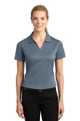 L469 Ladies Dri-Mesh V-Neck Polo