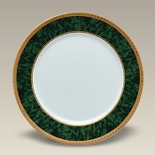 "6295 12"" Malachite Charger Plate"