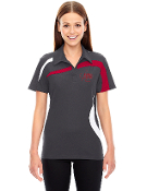 78645/88645 Ladies/Mens Polyester Color-Block Polo