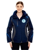 78195 Ladies 3-in-1 Jacket with Insulated Liner