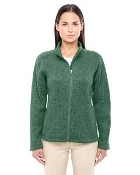 DG793W Ladies Full Zip Sweater Fleece Jacket