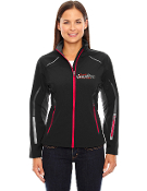 78678 Ladies 3-Layer Light Bonded Hybrid Soft Shell Jacket