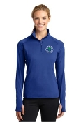 LST850 Ladies Yoga Stretch 1/2-Zip Pullover
