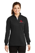 LST253 Ladies 1/4-Zip Sweatshirt