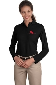L500LS Ladies/Mens Long Sleeve SIlk Touch Polo