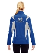 TT82W Colorblock Soft Shell Jacket-ladies